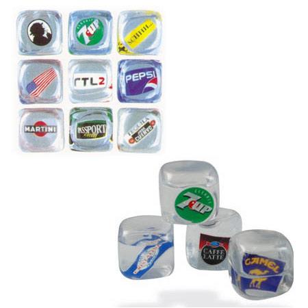 Getränke Zubehör : Logo-Eiswürfel